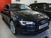 2014 AUDI A5 3.0 TDI QUATTRO S LINE BLACK EDITION 2d AUTO 245 S/S £14983.00