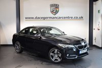 USED 2015 15 BMW 2 SERIES 2.0 220D SPORT 2DR AUTO 188 BHP 1 Owner Full Service History  + FULL BLACK LEATHER INTERIOR + FULL BMW SERVICE HISTORY + 1 OWNER FROM NEW + SATELLITE NAVIGATION + BLUETOOTH + SPORT SEATS + CRUISE CONTROL + DAB RADIO + PARKING SENSORS + 17 INCH ALLOY WHEELS +
