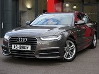USED 2015 15 AUDI A6 AVANT 2.0 TDI ULTRA S LINE 5d 190 S/S SAT NAV, FULL LEATHER, DAB RADIO, BLUETOOTH PHONE & MUSIC STREAMING, AUDI MUSIC INTERFACE (AMI), FRONT & REAR PARKING SENSORS WITH DISPLAY, LED LIGHTS, MANUAL 6 SPEED GEARBOX, START STOP TECHNOLOGY, HEADLAMP WASHERS, 18 INCH TWIN 5 SPOKE ALLOYS, S LINE BODY KIT, TWIN EXHAUST, ELECTRIC TAILGATE, CRUISE CONTROL, SPORT SEATS WITH ELECTRIC LUMBAR SUPPORT, LIGHT & RAIN SENSORS WITH AUTO DIMMING REAR VIEW, AUTO HOLD, 4 ZONE CLIMATE CONTROL, 1 OWNER FROM NEW, FULL AUDI HISTORY, £30 ROAD TAX