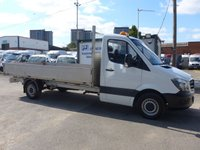 USED 2015 65 MERCEDES-BENZ SPRINTER 313 CDI LWB DROPSIDE, 130 BHP [EURO 5], 1 COMPANY OWNER