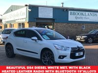 2012 CITROEN DS4 2.0 HDI DSPORT PEARL WHITE METALLIC 5 DOOR 161 BHP £7695.00