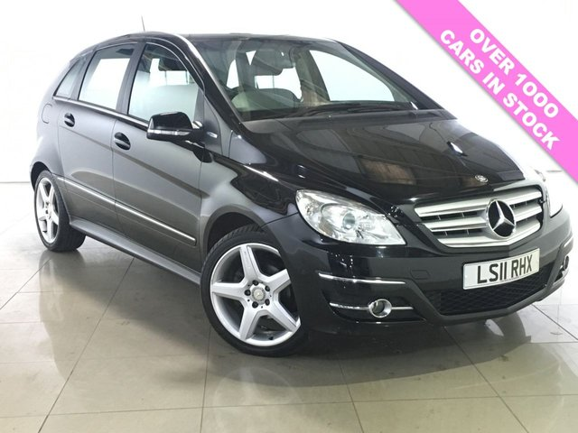 View our 2011 11 MERCEDES-BENZ B CLASS 1.5 B160 BLUEEFFICIENCY SPORT 5d 95 BHP