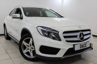 USED 2015 15 MERCEDES-BENZ GLA-CLASS 2.1 GLA220 CDI 4MATIC AMG LINE 5DR AUTOMATIC 168 BHP Full Service History  FULL MERCEDES SERVICE HISTORY + HALF LEATHER SEATS + REVERSE CAMERA + BLUETOOTH + CRUISE CONTROL + PARKING SENSOR + MULTI FUNCTION WHEEL + CLIMATE CONTROL + 18 INCH ALLOY WHEELS