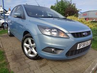 USED 2008 58 FORD FOCUS 1.8 ZETEC 5d 125 BHP **1 Owner FSH 9 Stamps 12 Months Mot**