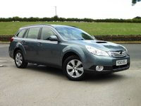 USED 2013 63 SUBARU OUTBACK 2.0D S OUTBACK 5DR LOW MILEAGE, FULL SERVICE HISTORY