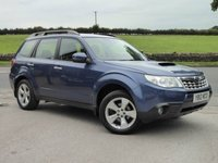USED 2012 12 SUBARU FORESTER 2.0D XC 5DR ONE OWNER, FULL SUBARU SERVICE HISTORY