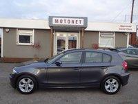 2008 BMW 1 SERIES 1.6 116I SE 5DR HATCHBCK 121 BHP £4440.00