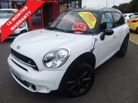 USED 2015 15 MINI COUNTRYMAN 2.0 COOPER SD 5d AUTO 141 BHP ****12 months warranty****