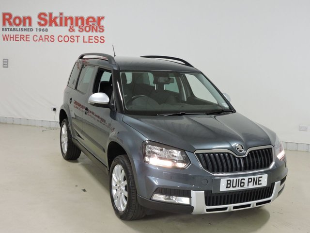 View our 2016 16 SKODA YETI 1.2 OUTDOOR SE TSI DSG 5d AUTO 109 BHP