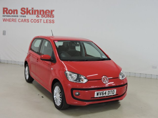 View our 2014 64 VOLKSWAGEN UP (10)  1.0 HIGH UP 5d 74 BHP