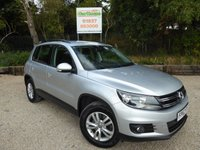 USED 2012 62 VOLKSWAGEN TIGUAN 2.0 S TDI BLUEMOTION TECHNOLOGY 4MOTION 5dr Air Con, PDC, 1 Owner.
