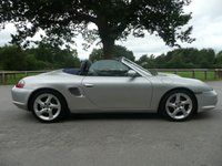 USED 2004 04 PORSCHE BOXSTER 2.7 SPYDER 2d 228 BHP Leather Sports Seats, New Mot, Good History, Looks and Drives Superb