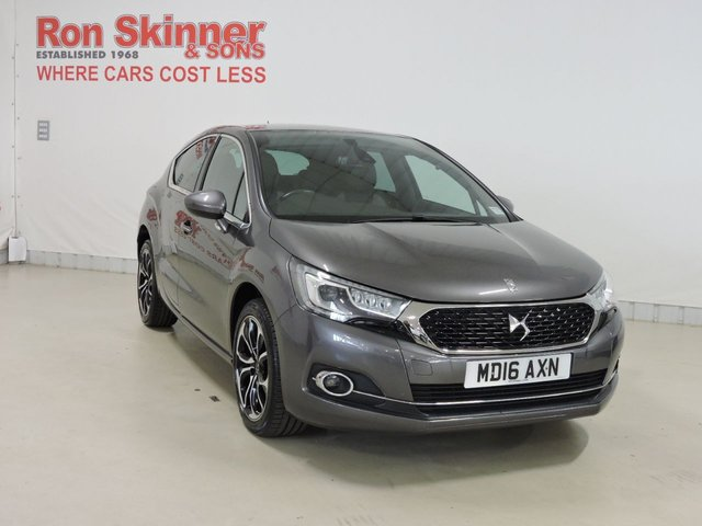 View our 2016 16 DS DS 4 2.0 BLUEHDI PRESTIGE S/S 5d 150 BHP