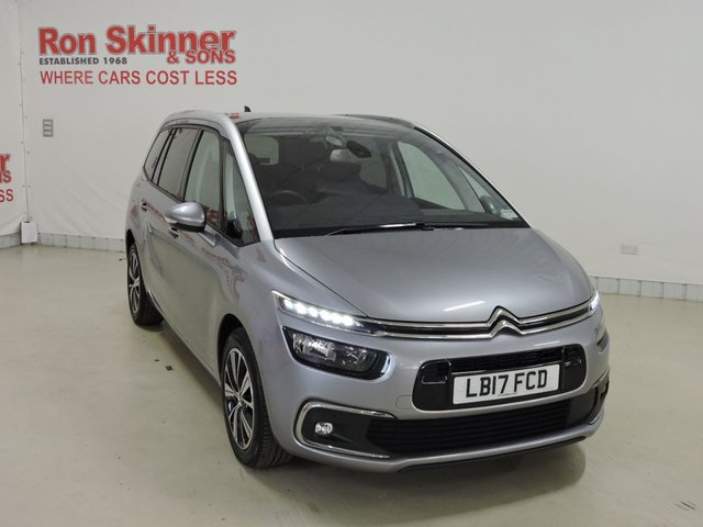 View our 2017 17 CITROEN C4 GRAND PICASSO 1.6 BLUEHDI FLAIR S/S 5d 118 BHP