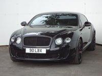 2010 BENTLEY CONTINENTAL 6.0 SUPERSPORTS 2d AUTO 621 BHP £53988.00