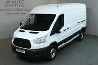 USED 2016 16 FORD TRANSIT 2.2 350 SHR P/V 5d 124 BHP L3 H2 LWB M/ROOF RWD PANEL VAN ONE OWNER FROM NEW / SPARE KEY