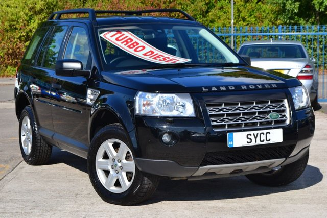 USED 2010 10 LAND ROVER FREELANDER 2.2 TD4 E GS 5d 159 BHP 8 SERVICE STAMPS ~ 2 KEYS ~ ROOF BARS ~ 6 MONTHS WARRANTY