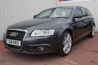 USED 2011 11 AUDI A6 3.0 AVANT TDI QUATTRO S LINE SPECIAL EDITION 5d 237 BHP SERVICE HISTORY