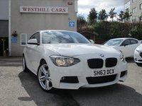 2013 BMW 1 SERIES 2.0 118D M SPORT 3d 141 BHP £11750.00
