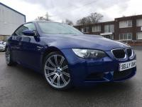 USED 2008 BMW M3 4.0 V8 M3 2dr Stunning Interlagos Blue with Black Novilo Leather and only 49,000 miles from new!