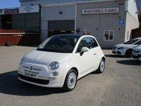 2014 FIAT 500 1.2 LOUNGE 3d 69 BHP £5950.00