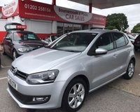 2011 VOLKSWAGEN POLO 1.2 MATCH 5d 59 BHP 1 OWNER,ONLY 58,000 MILES £5995.00