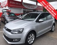 USED 2011 61 VOLKSWAGEN POLO 1.2 MATCH 5d 59 BHP 1 OWNER,ONLY 58,000 MILES