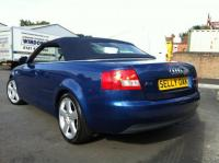 USED 2003 03 AUDI A4 2.5 TDI 163 Sport 2dr Diesel Convertible