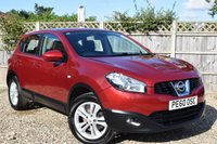 USED 2010 60 NISSAN QASHQAI 1.5 ACENTA DCI 5d 105 BHP Free 12  month warranty