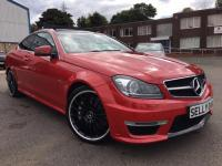 USED 2013 13 MERCEDES-BENZ C CLASS 6.3 C63 AMG MCT 7S 4-MATIC 2dr