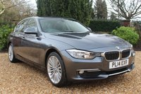 USED 2014 14 BMW 3 SERIES 2.0 320D LUXURY 4d 184 BHP STUNNING THROUGHOUT