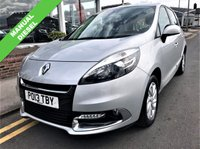 2013 RENAULT SCENIC 1.5 DYNAMIQUE TOMTOM DCI 5d 110 BHP £6995.00