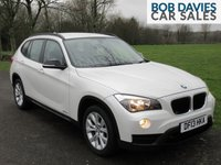 USED 2013 13 BMW X1 2.0 XDRIVE18D SPORT 5d 141 BHP 4x4 WHITE The Best Colour X1 :-)