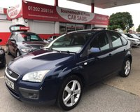 2006 FORD FOCUS 1.6 ZETEC 5 DOOR £1495.00