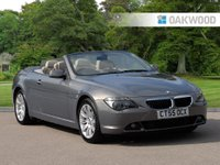 2005 BMW 6 SERIES 3.0 630I 2d AUTO 255 BHP £6495.00