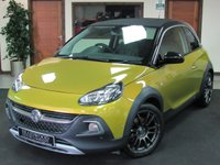 2014 VAUXHALL ADAM 1.0 ROCKS AIR 3d 113 BHP £7999.00