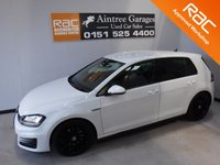 USED 2013 13 VOLKSWAGEN GOLF 2.0 GTD DSG 5d AUTO 182 BHP STUNNING AND VERY WELL LOOKED AFTER SPORTS HATCH LATEST MODEL FINISHED IN GLEAMING WHITE, WITH FULL BLACK HEATED LEATHER AND FINISHED OFF WITH A SET OF UPGRADED ALLOYS, SAT NAV, CRUSE CONTROL, ELEC  MIRRORS, DUAL CLIMATE CONTROL, BLUETOOTH AND MUCH MUCH MORE      for more Information Please Call Now on 0151525 4400,  07967141248. Family Run Business Since 1990