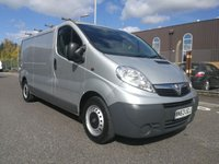 USED 2013 63 VAUXHALL VIVARO 2.0 2900 CDTI ECOFLEX LWB 1d 89 BHP ONE OWNER - DIRECT LEASE COMPANY - AIR CONDITIONING - ELECTRIC WINDOWS