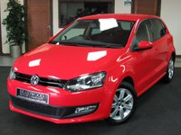 2014 VOLKSWAGEN POLO 1.4 MATCH EDITION 5d 83 BHP £6475.00