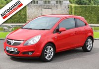USED 2010 60 VAUXHALL CORSA 1.2 SXI 3d 83 BHP Finance Options Available