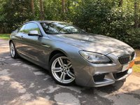 USED 2012 62 BMW 6 SERIES 3.0 640D M SPORT 2d AUTO 309 BHP PROFESSIONAL NAV BLUETOOTH MEDIA 1 FORMER KEEPER FULL BMW HISTORY