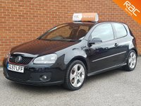 2007 VOLKSWAGEN GOLF 2.0 GTI 3d 197 BHP  BLACK LEATHER HEATED SEATS £4495.00
