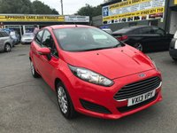USED 2013 13 FORD FIESTA 1.6 STYLE 5 DOOR AUTOMATIC 104 BHP IN BRIGHT RED WITH 61000 MILES. APPROVED CARS ARE PLEASED TO OFFER THIS  FORD FIESTA 1.6 STYLE 5 DOOR AUTOMATIC 104 BHP IN BRIGHT RED WITH 61000 MILES IN IMMACULATE CONDITION WITH A FULL SERVICE HISTORY SERVICED AT 9K,12K,25K,37K AND 54K AN IDEAL TOWN CAR WITH A FULLY AUTOMATIC GEARBOX.