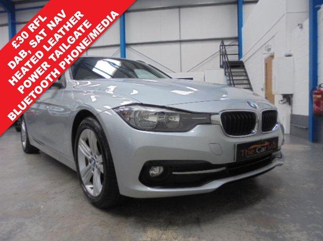2015 65 BMW 3 SERIES 2.0 320D ED SPORT TOURING 5d AUTO 161 BHP