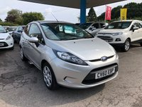 2010 FORD FIESTA 1.2 STYLE PLUS 3d 81 BHP £4999.00