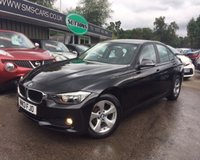 2013 BMW 3 SERIES 2.0 320D EFFICIENTDYNAMICS 4d 161 BHP £10989.00