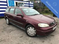 USED 2003 53 VAUXHALL ASTRA 1.6 CLUB ESTATE Practical petrol Estate Car - Long MOT Expires 18/09/2019