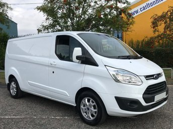 2015 FORD TRANSIT CUSTOM 290 L2 LWB H1 LIMITED LOW ROOF VAN TAILGATE,ALLOYS,A/C,MASSIVE SPEC+ FREE UK DELIVERY £10950.00