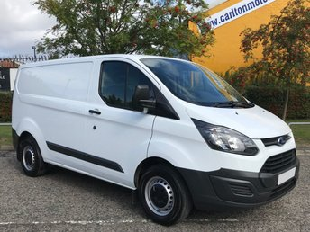 2015 FORD TRANSIT CUSTOM 2.2 290 L1 SWB LOW ROOF VAN 100 Ex Lease Delivery T,B,A £7950.00