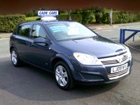 USED 2009 09 VAUXHALL ASTRA 1.4 ACTIVE 5d 89 BHP JUST BEEN SERVICED. MOT'D UNTIL 19/8/19. READY TO DRIVE AWAY!